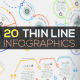 20 Thin Line Infographics - GraphicRiver Item for Sale