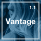 Vantage - A Simple Single-page Bootstrap Template - ThemeForest Item for Sale