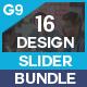 Slider Bundle - 16 Design - GraphicRiver Item for Sale
