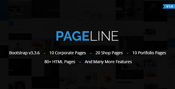 PageLine – Bootstrap Based Multi-Purpose HTML5 Template