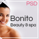BONITO - beauty & spa Onepage PSD Template - ThemeForest Item for Sale