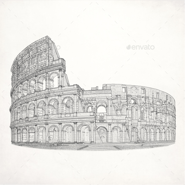 Coliseum - Buildings Objects