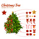 Christmas Tree Design Decoration Creator - GraphicRiver Item for Sale