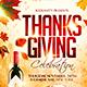 Thanksgiving Celebration Flyer - GraphicRiver Item for Sale