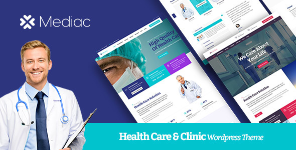 Mediac – Healthy Service WordPress Theme