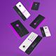 Membership / Business Card Mockups - GraphicRiver Item for Sale