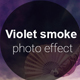 Violet Smoke Photo Effect - GraphicRiver Item for Sale