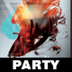Minimalistic Party Flyer - GraphicRiver Item for Sale