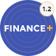 Finance + Business and Finance Corporate PSD Template Nulled