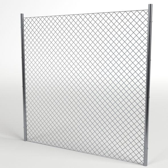 Wire Fence module - 3DOcean Item for Sale