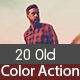 20 Old Color Actions - GraphicRiver Item for Sale