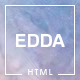 Edda - Creative Portfolio and Multipurpose HTML Template - ThemeForest Item for Sale