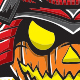 Samurai - Halloween - GraphicRiver Item for Sale