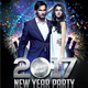 New Year 2017 Party - GraphicRiver Item for Sale