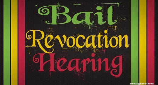 Bail Revocation Hearing