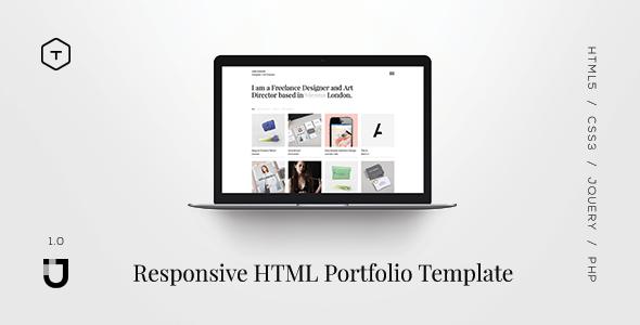 Jane – Responsive HTML5 Portfolio Template