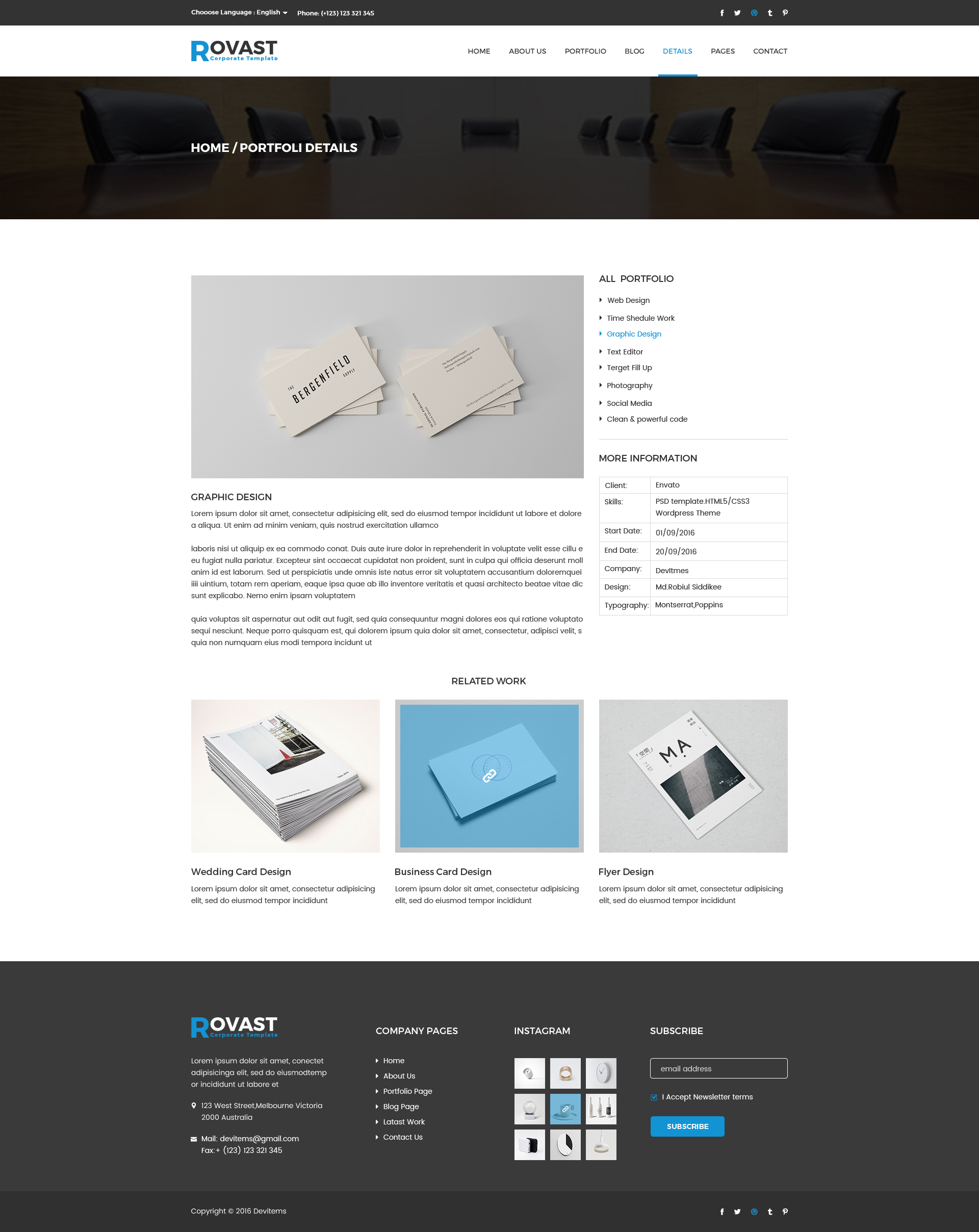rovast corporate psd template by themes hub