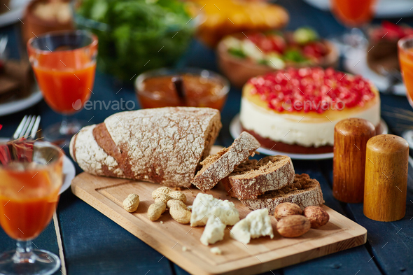 Healthy eating for holiday - Stock Photo - Images