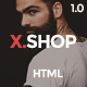 X-Shop - Kute HTML Template Nulled