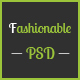 fashionable– eCommerce PSD Template - ThemeForest Item for Sale