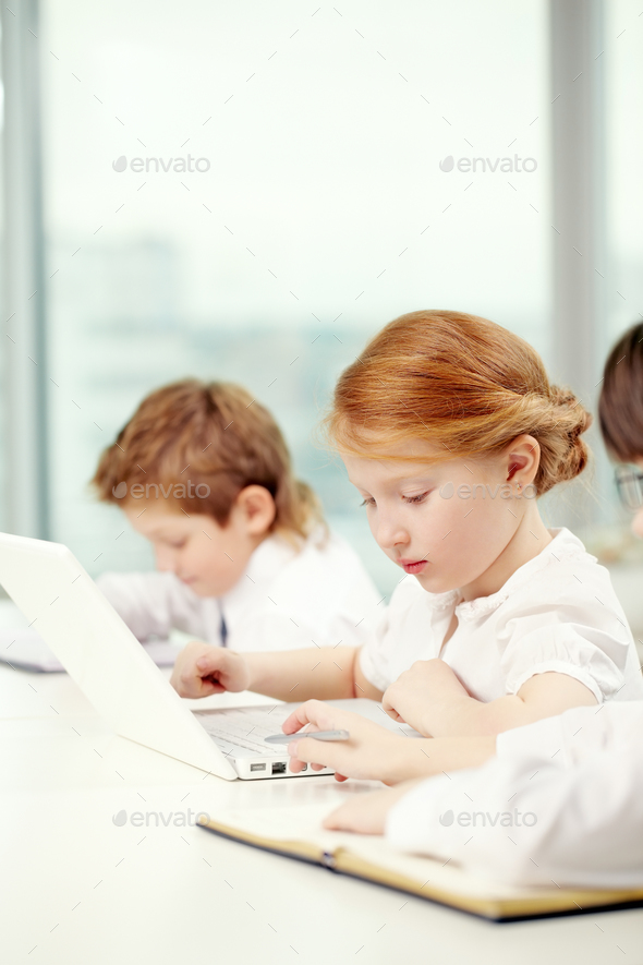 Busy children - Stock Photo - Images