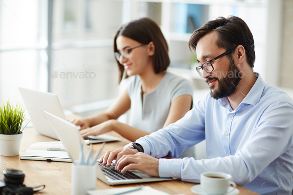 Office workers - Stock Photo - Images