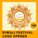 Happy Diwali Festival Logo Opener - VideoHive Item for Sale