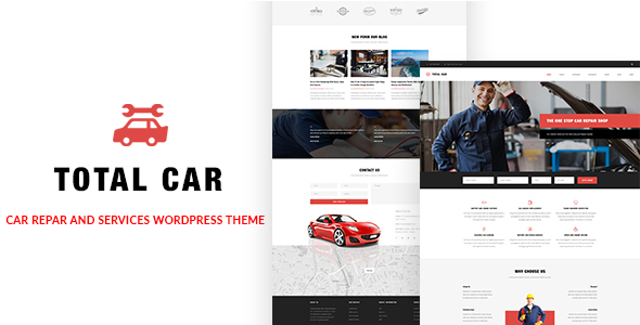 Total Car || Auto Mechanic & Car Repair WordPress Theme