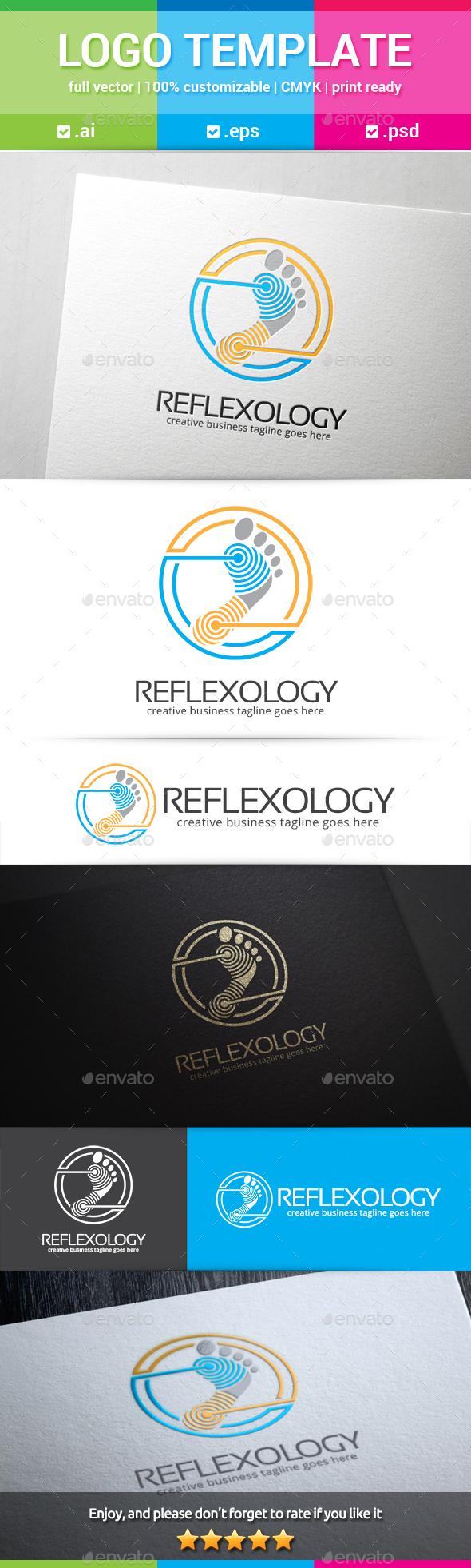 Reflexology Logo - Humans Logo Templates