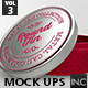 Round Tin Cans Vol.3 Packaging Mock Ups - GraphicRiver Item for Sale