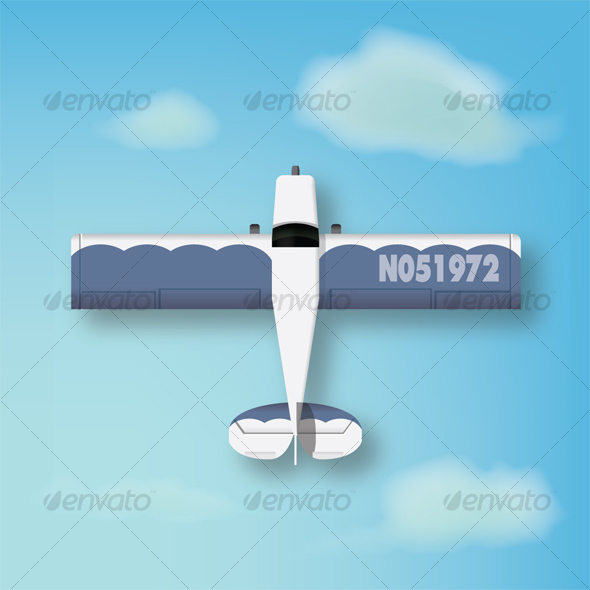 Small Airplane - Man-made Objects Objects