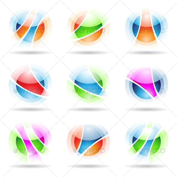 vibrant balls - Abstract Icons