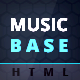 MusicBase - Band Artist Radio HTML Template - ThemeForest Item for Sale