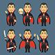 Vampire Holding Skull Machete Syringe - GraphicRiver Item for Sale