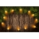 Christmas Light with Fir Branches - GraphicRiver Item for Sale