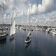 Aerial Of Sailboats Part 2 - VideoHive Item for Sale