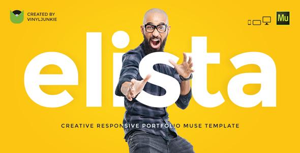 Elista – Responsive Creative Portfolio Muse Template