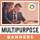 HTML5 Multi Purpose Banners - GWD - 7 Sizes(NF-CC-141)