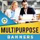 Multi Purpose HTML5 Banners - GWD - 7 Sizes(NF-CC-142)