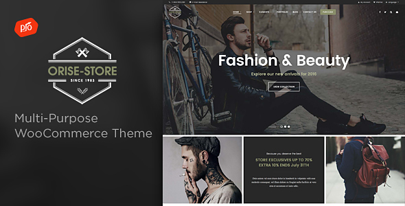 Orise Store – Multi-Purpose WooCommerce Theme