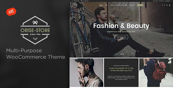 Orise Store – Multi-Purpose WooCommerce Theme Free Download