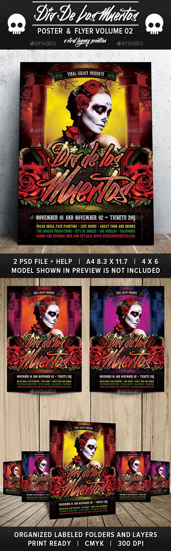 Dia De Los Muertos Volume 02 - Clubs & Parties Events