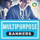HTML5 Multi Purpose Banners - GWD - 7 Sizes(NF-CC-149)