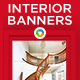 Interior Design HTML5 Banners - GWD - 7 Sizes (NF-CC-150)
