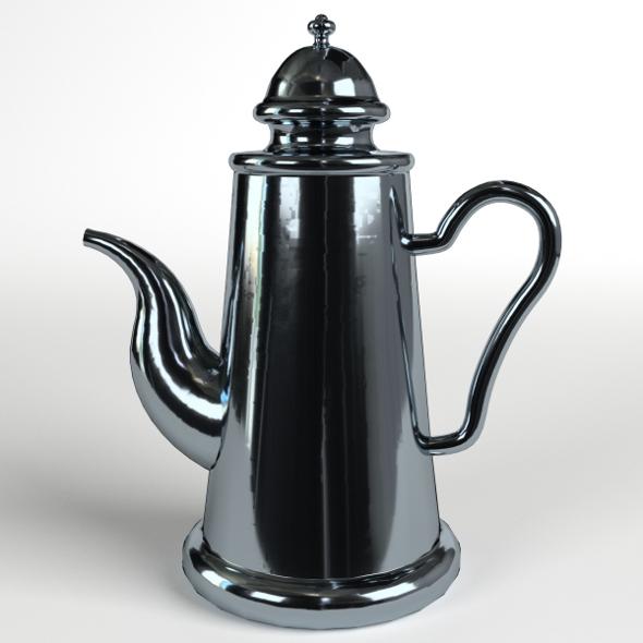 Teapot 1 - 3DOcean Item for Sale