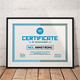 Modern Certificate Of Achievement - GraphicRiver Item for Sale