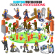 Isometric Professions People Vector - GraphicRiver Item for Sale