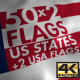 4K Flags of the US States - VideoHive Item for Sale