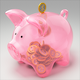 Filling of Piggy Bank - VideoHive Item for Sale