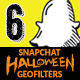 Halloween Snapchat Geofilters - GraphicRiver Item for Sale